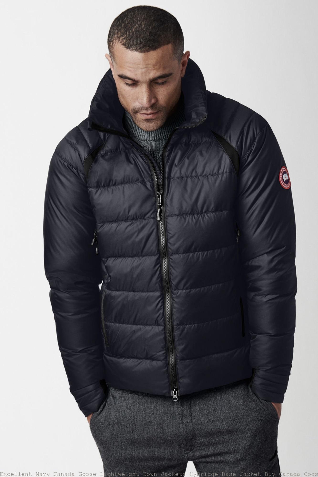 cf0ff646d07 Excellent Navy Canada Goose Lightweight Down Jackets HyBridge Base Jacket  Buy Canada Goose Jacket 2729M