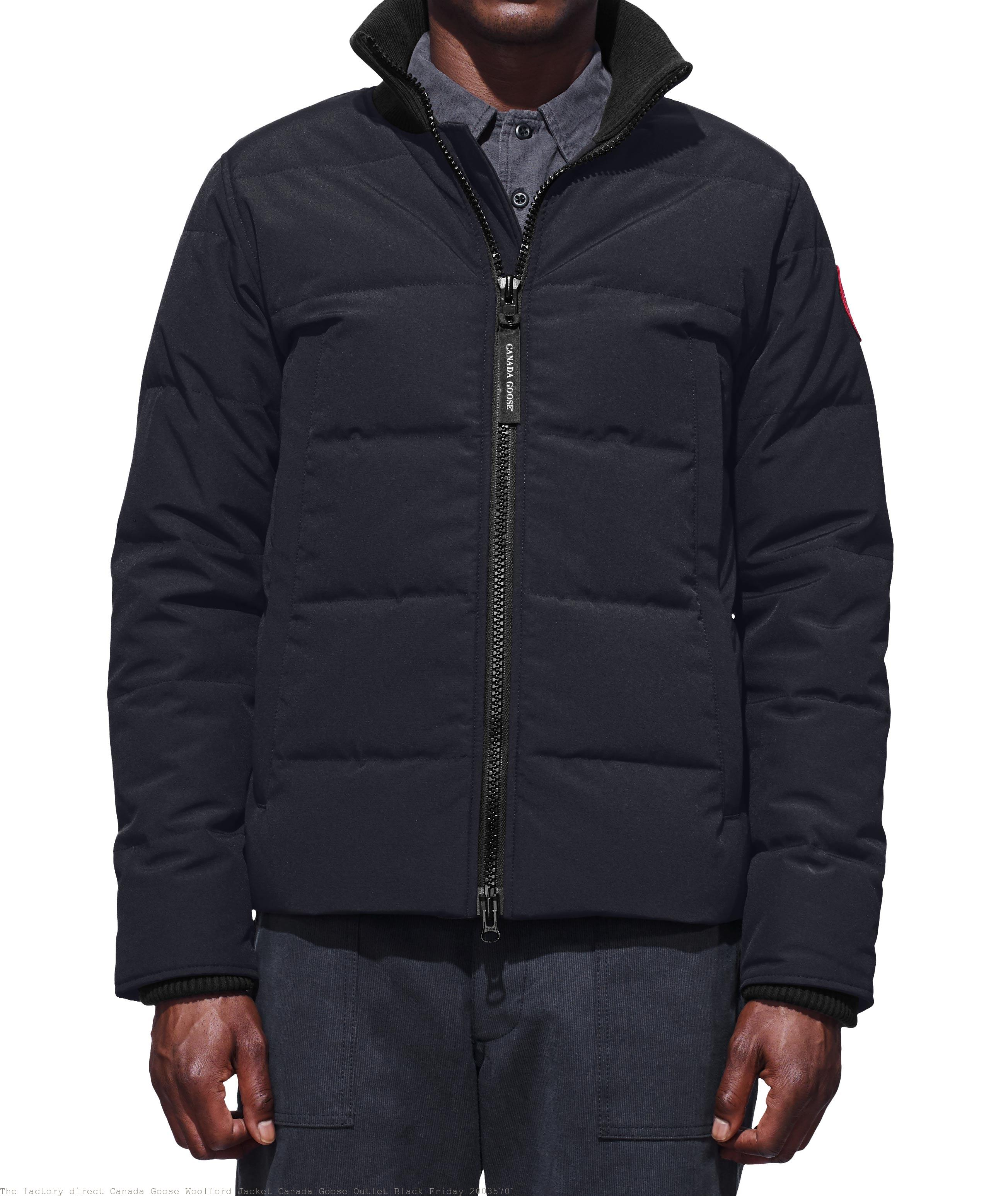 The factory direct Canada Goose Woolford Jacket Canada Goose Outlet Black  Friday 20035701 a94f8d3b2